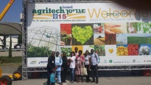 at the last edition of agritech israel