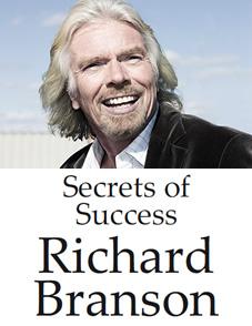 Secrets of Success Richard Branson