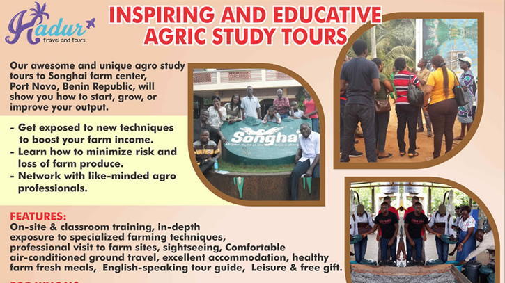 Hadur fliers for agric tour