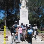 group pic on Mt Carmel by Elijah satute